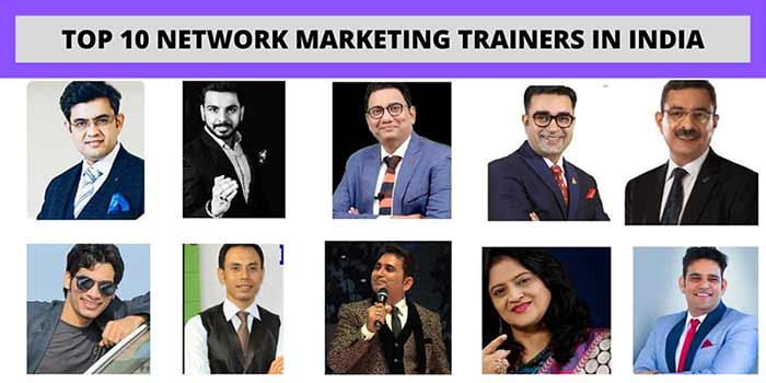 Top 10 network marketing trainers in india