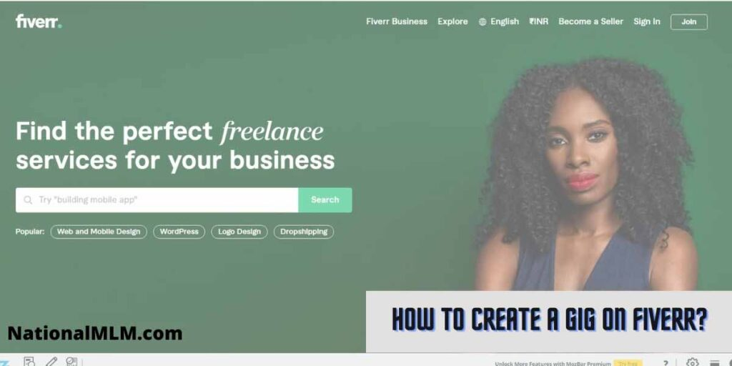 How to create a Gig on Fiverr that sell your service