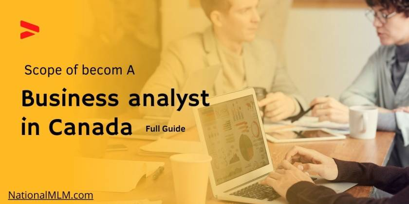 What is scope of become a business analyst in Canada